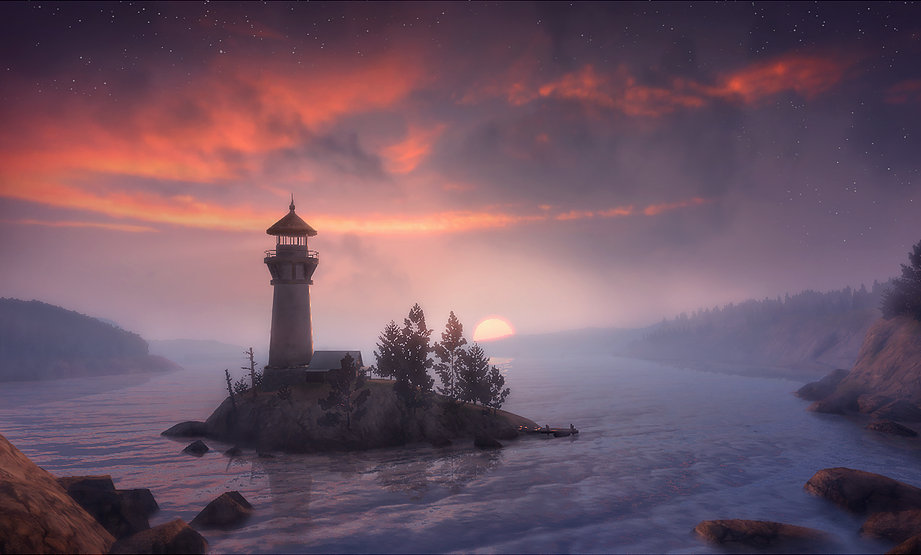 UDK Scene Lighthouse featured - From Scratch | CryEngine Level Blockout