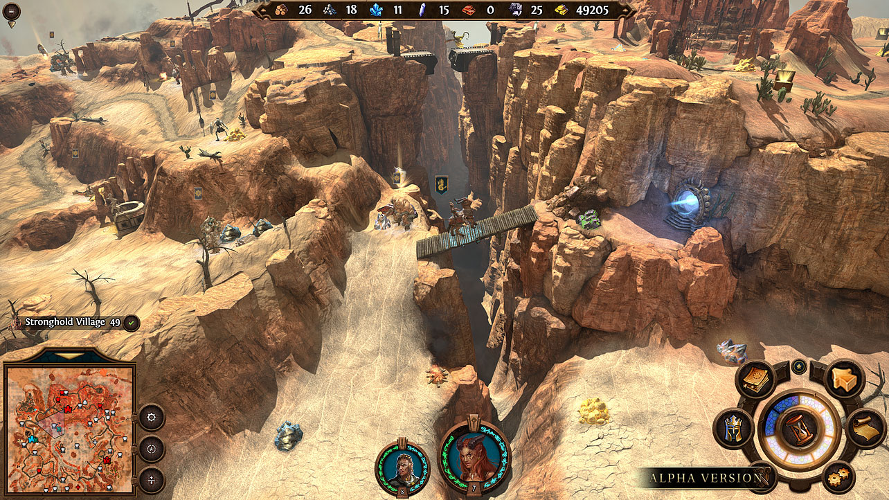 heroes7 stronghold 2 gameplay 00 1 - HEROES VII Stronghold Campaign
